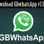 تحميل جي بي واتس اب أحدث إصدار GBWhatsapp v7.80 للاندرويد