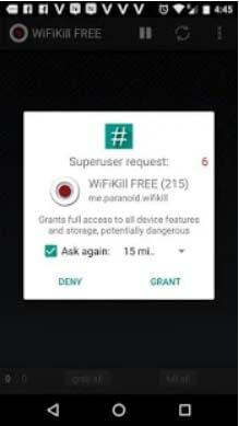 تثبيت برنامج wifi kill