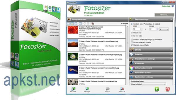برنامج Fotosizer
