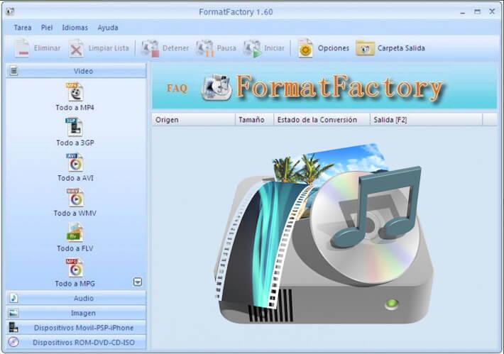 تحميل برنامج Format Factory محول الفيديو للكمبيوتر