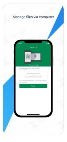 تحميل برنامج xender iOS مجاناً احدث اصدار لاجهزة الايفون