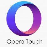 اوبرا تاتش تحميل opera touch للجوال متصفح اوبرا الجديد