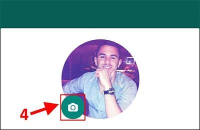change photo in whatsapp